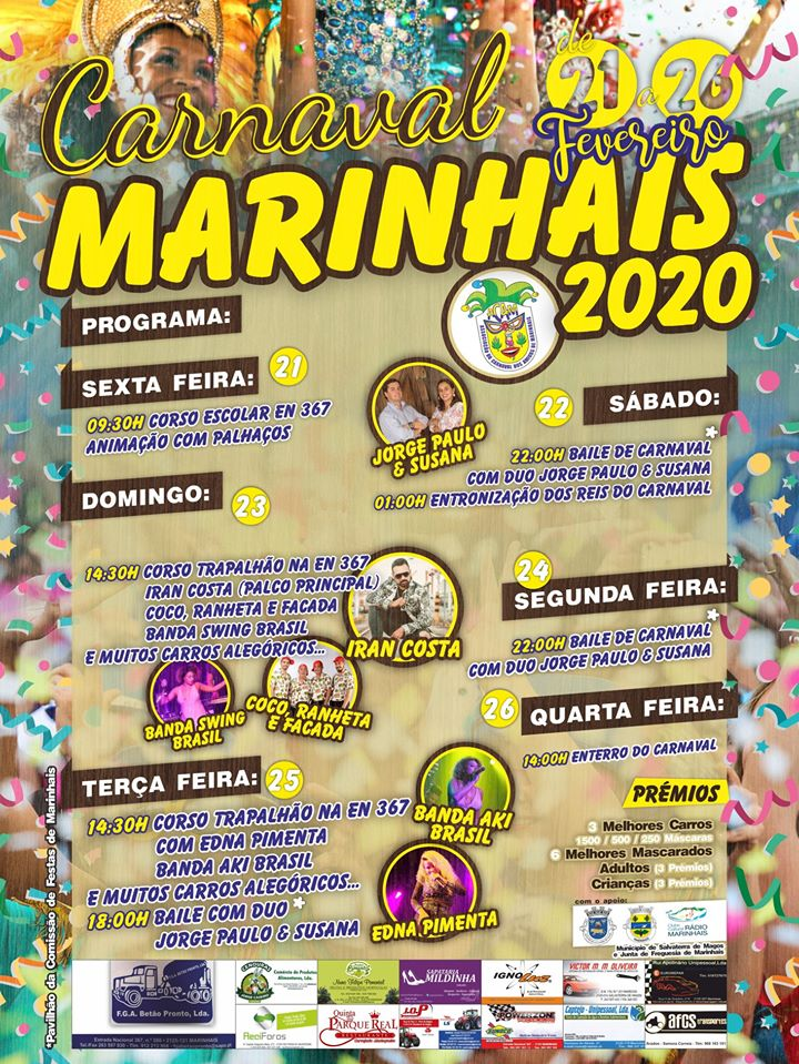 Cartaz do Carnaval 2020